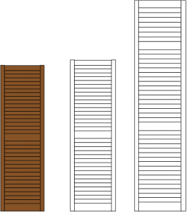 louvered-diagram